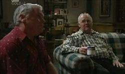 Lou Carpenter, Harold Bishop in Neighbours Episode 3918