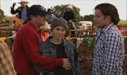 Karl Kennedy, Libby Kennedy, Drew Kirk in Neighbours Episode 3919
