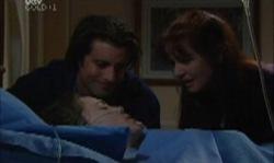 Drew Kirk, Libby Kennedy, Susan Kennedy in Neighbours Episode 3921