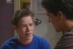 Leo Hancock, Evan Hancock in Neighbours Episode 3922