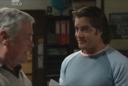 Lou Carpenter, Drew Kirk in Neighbours Episode 3922