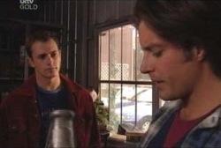 Stuart Parker, Drew Kirk in Neighbours Episode 3923