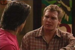 Drew Kirk, Scott Gibson in Neighbours Episode 3928
