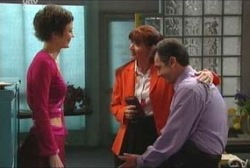 Serena Lucas, Susan Kennedy, Karl Kennedy in Neighbours Episode 3929