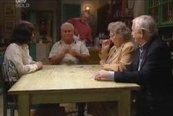 Lou Carpenter, Harold Bishop, Gladys O