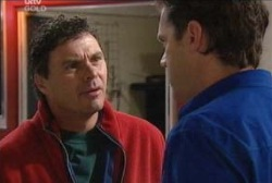 Joe Scully, Stuart Parker in Neighbours Episode 3935