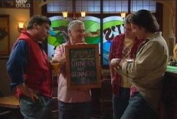Joe Scully, Lou Carpenter, Stuart Parker, Drew Kirk in Neighbours Episode 3935
