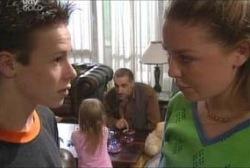 Leo Hancock, Emily Hancock, Gregori, Michelle Scully in Neighbours Episode 3936