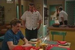 Tad Reeves, Toadie Rebecchi, Harold Bishop in Neighbours Episode 3936