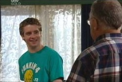 Tad Reeves, Harold Bishop in Neighbours Episode 3937