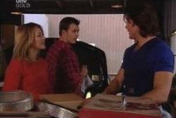 Steph Scully, Stuart Parker, Drew Kirk in Neighbours Episode 3944