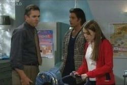 Karl Kennedy, Drew Kirk, Libby Kennedy in Neighbours Episode 3946