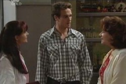Susan Kennedy, Marc Lambert, Lyn Scully in Neighbours Episode 3947