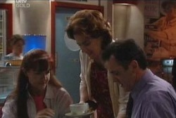 Susan Kennedy, Lyn Scully, Karl Kennedy in Neighbours Episode 3947