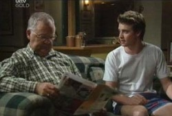 Harold Bishop, Tad Reeves in Neighbours Episode 3952