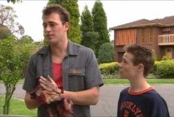 Stuart Parker, Leo Hancock in Neighbours Episode 3953