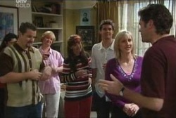 Toadie Rebecchi, Susan Kennedy, Matt Hancock, Maggie Hancock, Evan Hancock in Neighbours Episode 3954