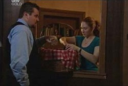 Toadie Rebecchi, Meredith Boulter in Neighbours Episode 3954