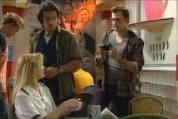 Dee Bliss, Drew Kirk, Stuart Parker in Neighbours Episode 3954