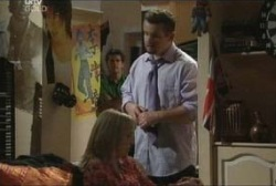 Matt Hancock, Maggie Hancock, Toadie Rebecchi in Neighbours Episode 3957