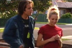 Drew Kirk, Terri Hall in Neighbours Episode 3958