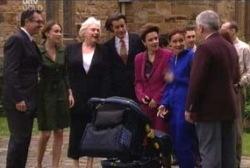 Karl Kennedy, Libby Kennedy, Rosie Hoyland, Drew Kirk, Lyn Scully, Susan Kennedy, Lou Carpenter in Neighbours Episode 3958