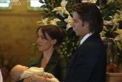 Ben Kirk, Libby Kennedy, Drew Kirk in Neighbours Episode 3958