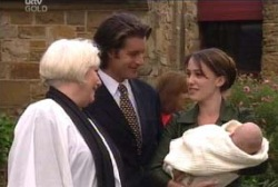 Rosie Hoyland, Drew Kirk, Libby Kennedy, Ben Kirk in Neighbours Episode 3958