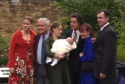 Elly Conway, Lou Carpenter, Libby Kennedy, Ben Kirk, Drew Kirk, Susan Kennedy, Karl Kennedy in Neighbours Episode 3958