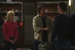 Dee Bliss, Drew Kirk, Stuart Parker in Neighbours Episode 3960