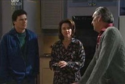 Joe Scully, Lyn Scully, Pat Scully in Neighbours Episode 3962