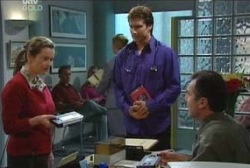 Mrs Clark, Darcy Tyler, Karl Kennedy in Neighbours Episode 3963