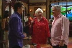 Darcy Tyler, Lou Carpenter, Rosie Hoyland in Neighbours Episode 3963
