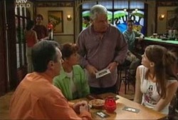 Karl Kennedy, Susan Kennedy, Lou Carpenter, Elly Conway in Neighbours Episode 3964