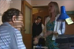 Keith Cox, Toadie Rebecchi, Maggie Hancock in Neighbours Episode 3964