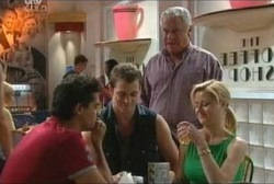 Matt Hancock, Stuart Parker, Lou Carpenter, Dee Bliss in Neighbours Episode 3965