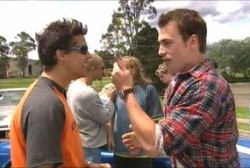 Matt Hancock, Stuart Parker in Neighbours Episode 3965