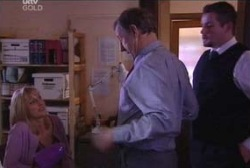 Maggie Hancock, Keith Cox, Toadie Rebecchi in Neighbours Episode 3966