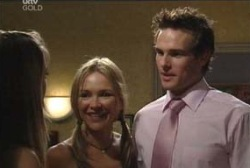 Felicity Scully, Steph Scully, Marc Lambert in Neighbours Episode 3966