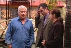 Lou Carpenter, Karl Kennedy, Susan Kennedy in Neighbours Episode 3968