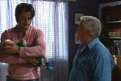 Drew Kirk, Ben Kirk, Lou Carpenter in Neighbours Episode 3968