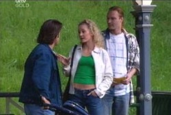 Drew Kirk, Terri Hall, Bevan Nevin in Neighbours Episode 3969