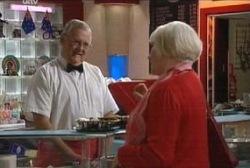 Harold Bishop, Rosie Hoyland in Neighbours Episode 3970