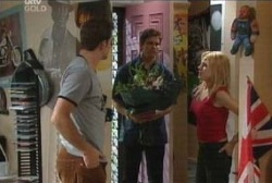 Stuart Parker, Darcy Tyler, Dee Bliss in Neighbours Episode 3970
