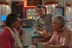 Drew Kirk, Stuart Parker, Lou Carpenter in Neighbours Episode 3970