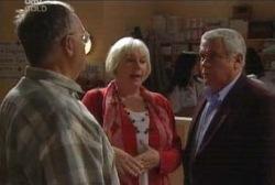 Harold Bishop, Rosie Hoyland, Lou Carpenter in Neighbours Episode 3970