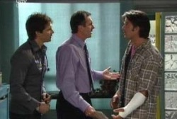 Darcy Tyler, Drew Kirk, Karl Kennedy in Neighbours Episode 3971