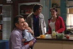 Karl Kennedy, Libby Kennedy, Drew Kirk, Ben Kirk in Neighbours Episode 3971