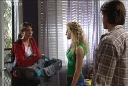 Libby Kennedy, Ben Kirk, Terri Hall, Drew Kirk in Neighbours Episode 3971