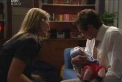 Steph Scully, Ben Kirk, Marc Lambert in Neighbours Episode 3971